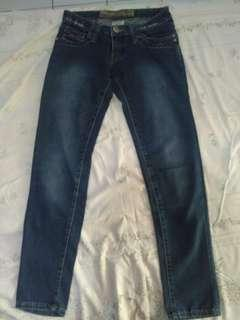 Grey Jeans Well Spoken