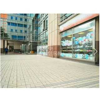 遠東人潮三角窗金店  建物登記 94.06 坪 , 主+陽48.94坪  1房1廳 ,1樓/18樓 ,19年10個月