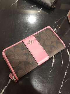 Coach Long Wallet F54630