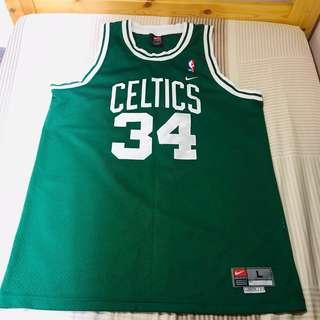 NBA Paul Pierce Boston Celtics Jersey Nike L size