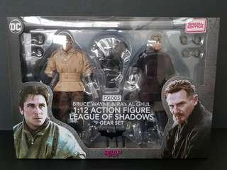 SOAP STUDIO 1:12 Scale Special Edition Bruce Wayne & Ra's Al Ghul League Of Shadows 2pack