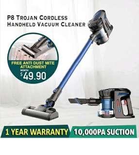 [INTRODUCTORY OFFER!] Trojan SGP8 Cordless Handheld Vacuum Cleaner