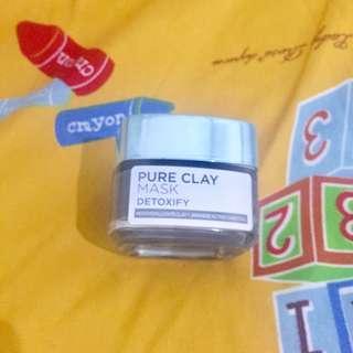 Loreal Pure Clay Mask Detoxifying