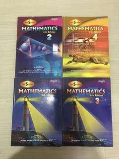 Maths Textbook and Work Book