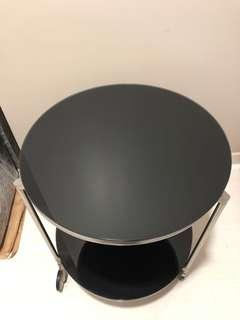 Round side rolling table ( Two levels )