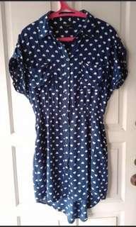 👍JATOH HARGA Cute Love Dress