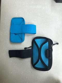 2 x Phone Exercise Sleeve / Holder