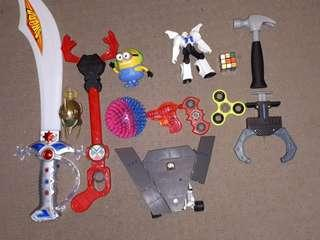 Bulk Lot Assorted Toys, Games and Collectables