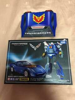Transformers Masterpiece MP 25 Tracks with coin