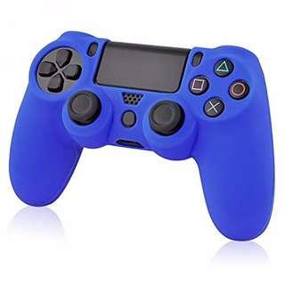 🚚 Silicone Cover for PS4 DualShock 4 DS4 Controller (Blue)