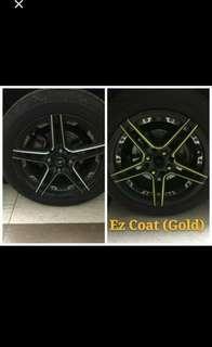 Promo Sales EZ Coat for Car Rim and Chrome Part