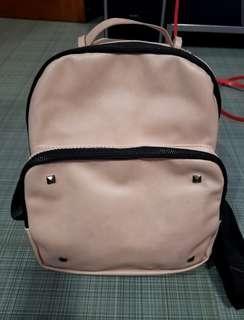 Dirty Pink Korean Backpack