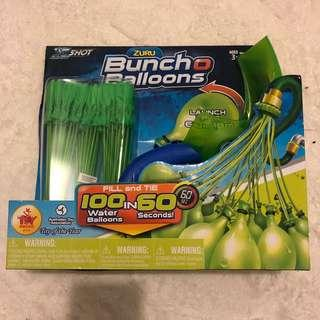 Water balloons and launcher