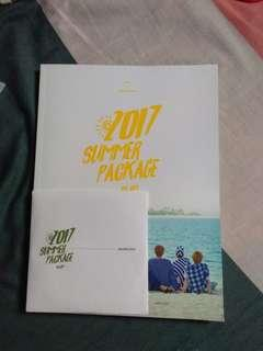 [CLEARENCE🎉]BTS SUMMER PACKAGE 2017 PHOTOBOOK & CD ONLY