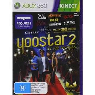 🚚 Yoostar 2: In The Movies - Xbox 360 Kinect