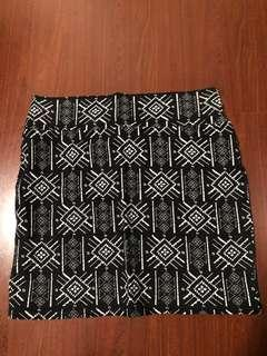 Cotton On Aztec Skirt