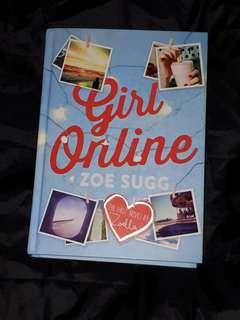 Girl Online Hardcover Book VGC Zoella / Zoe Sugg YouTube Star