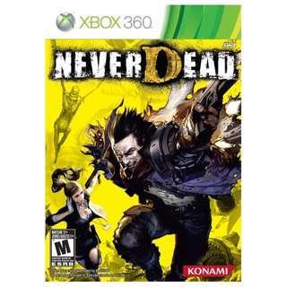 🚚 NeverDead - Xbox 360