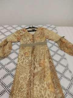 Dress panjang/Kaftan