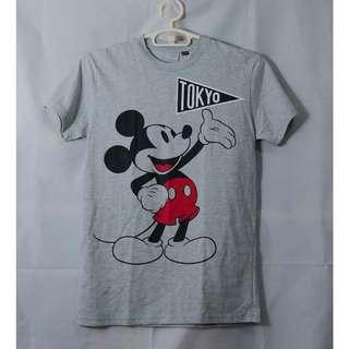 MICKEY MOUSE GRAY SHIRT