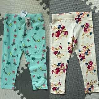 Export leggings bundle 3T