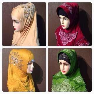 Malay Muslims ladies scarf / shawls