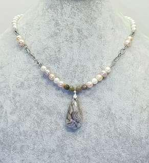 Beatrix Pearl Pendant Necklace