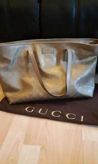Gucci Tote Bag Gold Colour