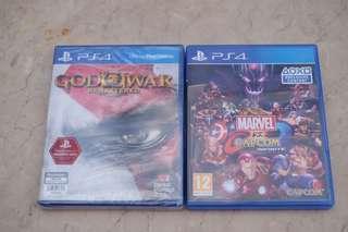 God of War and Marvel Vs Capcom