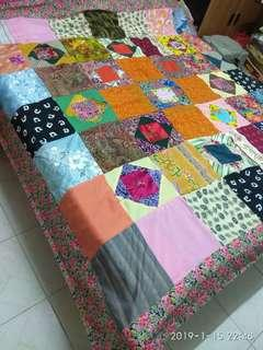 Brand New patchwork Blankets 78 x78 inches