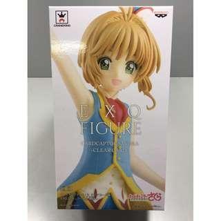 全新 行版 BANPRESTO EXQ Cardcaptor Sakura Clear Card百變小櫻 透明牌篇 Sakura Kinomoto 木之本櫻 夢之杖 小櫻