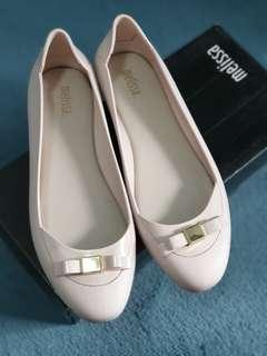Almost new Melissa Nude Flats