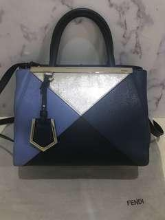Authentic 100% Fendi Petite 2 Jours bag