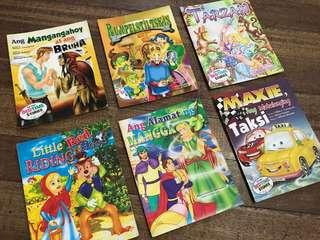 (Philippine-Printed) Bedtime Stories in Full Color Bundle for PHP70