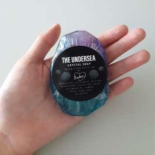 (owlcrate) the wicked king undersea soap