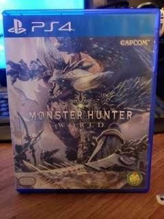 Ps4 monster hunter world 中英文版