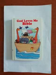 Candle books. God loves me bible. Children's bible. Written by Susan Elizabeth Beck.