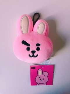 🚚 BTS BT21 PLUSH HEAD KEYCHAIN COOKY UNOFFICIAL INSPIRED