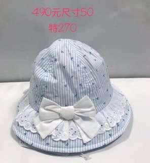 🚚 麗嬰房女童帽(46-50cm)