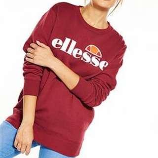 Ellesse Maroon Agata Sweater