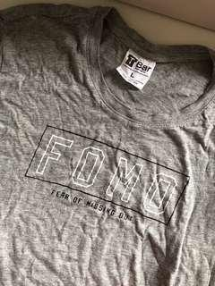 FOMO T bar Cotton On Shirt