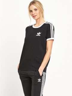 Adidas Originals California Three Stripe T-Shirt
