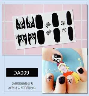 指甲貼紙 3D光療防水立體美甲材料 美甲貼片 光療指甲貼孕婦可用 狗 萌系 寵物