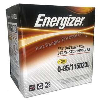 Energizer Q85 EFB (115D23L) Start Stop Battery Mazda Skyactiv Toyota Harrier XU60 Wish