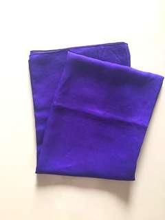 Segiempat Polycotton Dark Violet