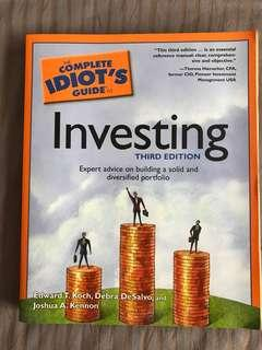 The Complete Idiot's Guide to Investing by Edward T Koch, Debra DeSalvo and Joshua A Kennon