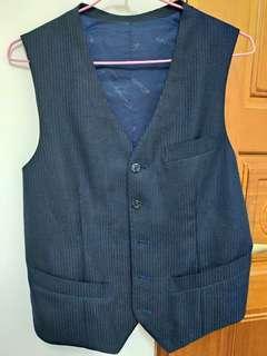 🚚 婚照必備♡高質感剪裁優 男士西裝外套內裡背心