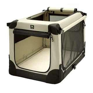 Almost New collapsible Soft Crate XLarge