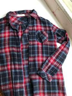 Flannel Shirt / Dress / Outerwear