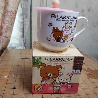 拉拉熊咖啡杯碗